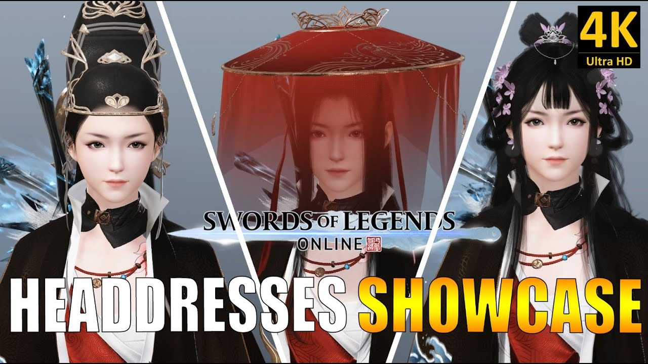 SWORD OF LEGENDS ONLINE | LES COIFFES DU CASH SHOP VERSION FEMME