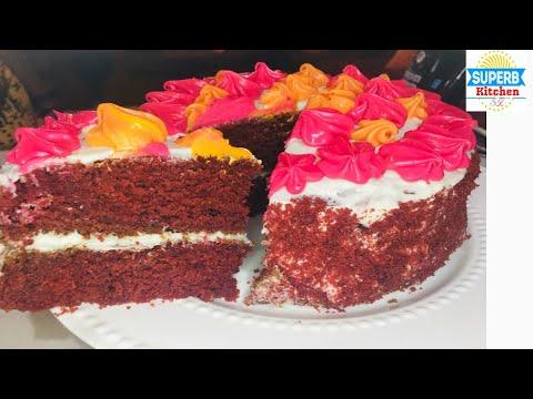 Red Velvet Cake recipe/ how to make red velvet cake / quick & easy #redvelvetcake #redvel