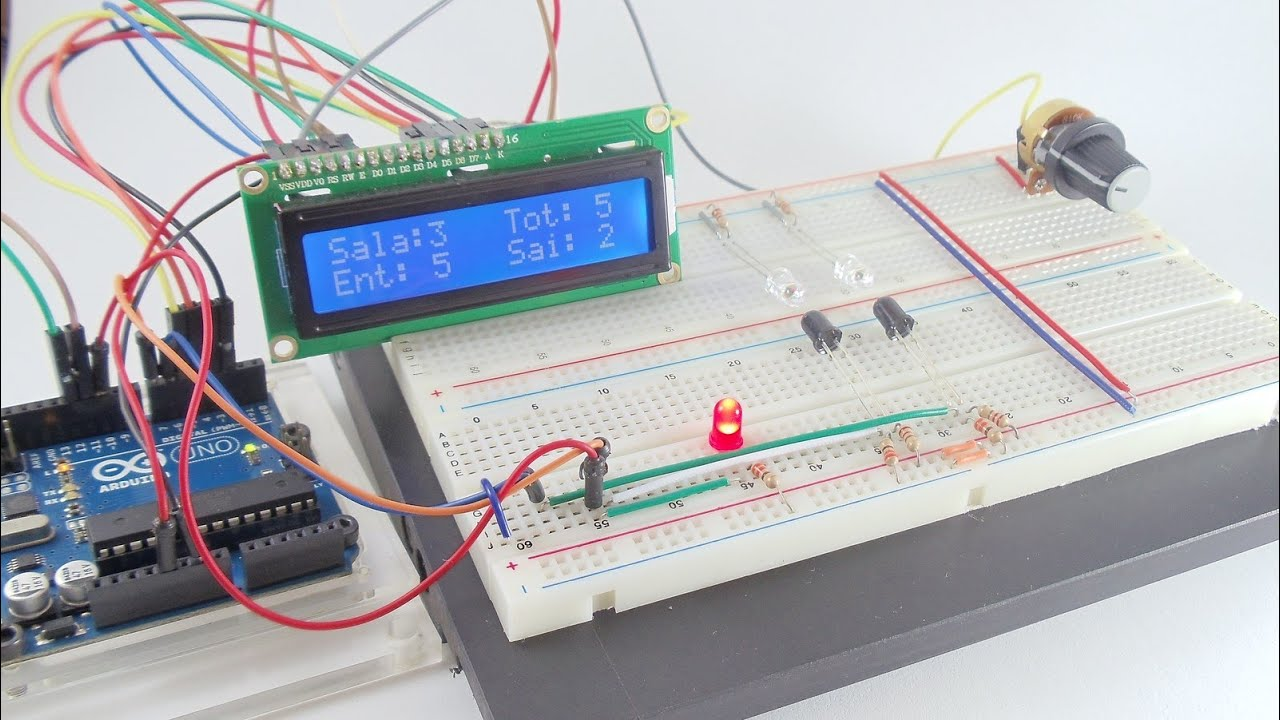 Infrared IR Alarms Circuits Projects