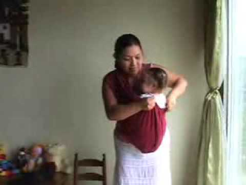 cb8f33d1a2d New Native Inc. - Baby Sling Comfort and Safety - YouTube