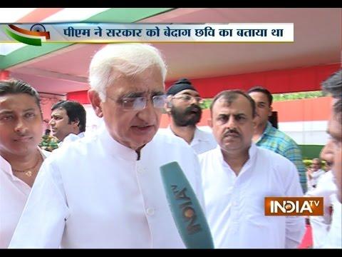 One Rank, One Pension: Salman Khurshid Questions PM Modi - India TV