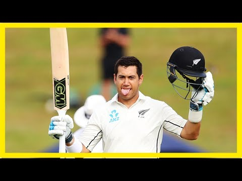 Taylor hits record-equalling test century