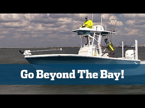 Florida Sport Fishing TV - SeaVee 270Z Boat Preview Sea Trial Best Bay Boat Inshore Fishing