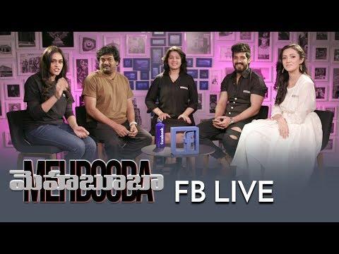 Mehbooba Team Facebook Live   Puri Jagannadh   Akash Puri   Neha Shetty   Inside Filmnagar