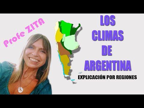CLIMA DE LA REPUBLICA ARGENTINA
