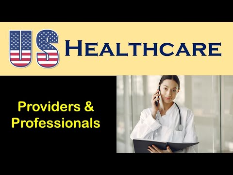 U.S. Health Care:  Providers and Professionals