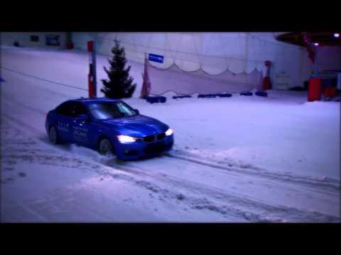 BMW in the Snow - Douglas Park.