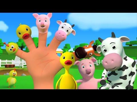 dedo família | crianças canções | compilação canção de ninar para crianças