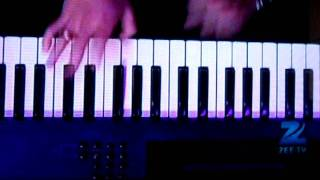 MAGIC FINGERS OF ADNAN SAMI ON PIANO KEY BOARD