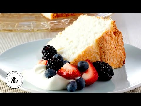 How to Make Simple Angel Food Cake