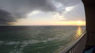 GoPro Hero 4 Silver 2.7 K 10 SPF Time Lapse PCB Sunset Storm Front