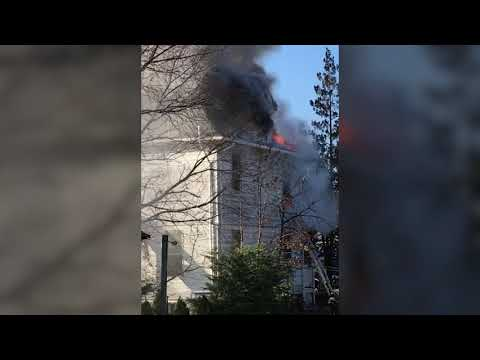 Video of house fire in Red Bank