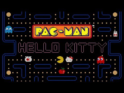Hello Kitty Join Forces With PAC-MAN For Mobile Game And Merchandises