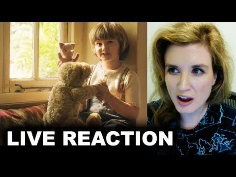 Goodbye Christopher Robin Trailer REACTION