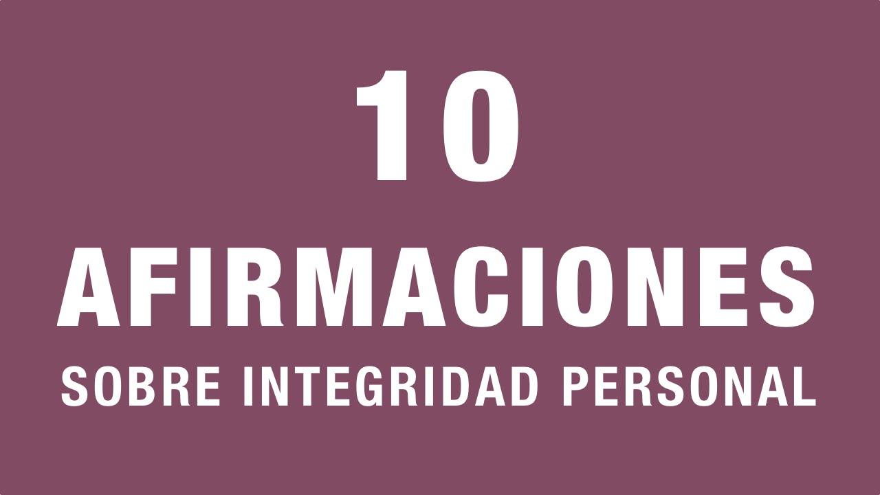 Frases Sobre Arrogância E Prepotência: 10 Afirmaciones Sobre Integridad Personal