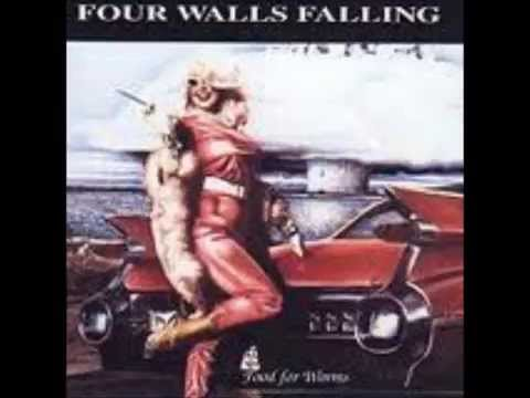 FOUR WALLS FALLING food for worms (FULL CD WITH HIDDEN TRACK)