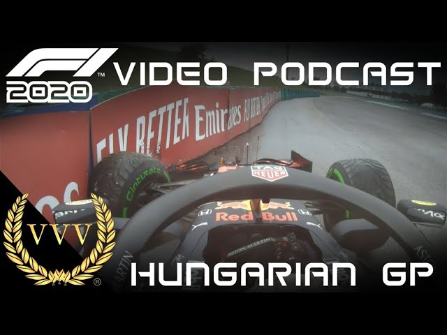 F1 2020 Hungarian GP Video Podcast