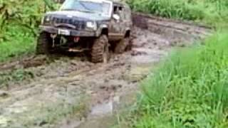 Jeep Cherokee playin in 2WD