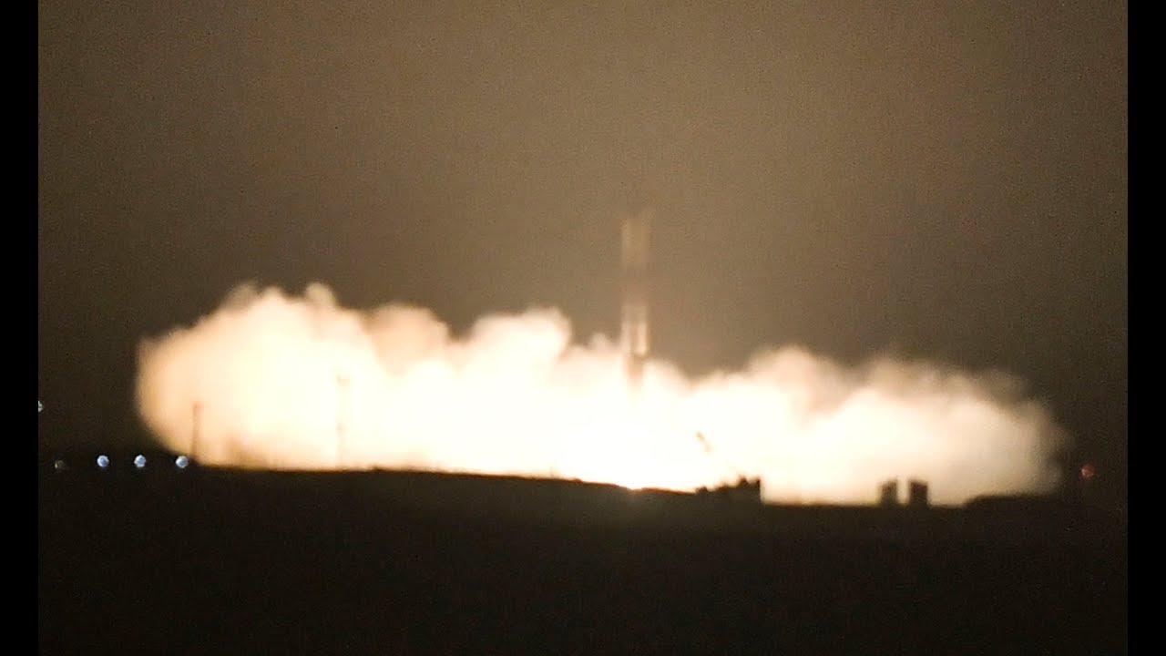 VIDEO: SpaceX launch and landing