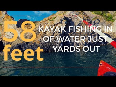 Sea Fishing In 50ft Water Just Yards From Shore