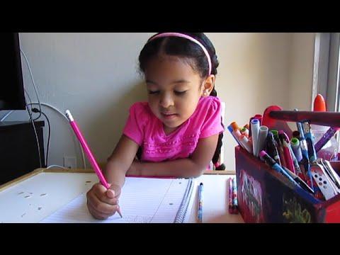 SMARTEST 4 Year Old Spelling Test! Vlog #175