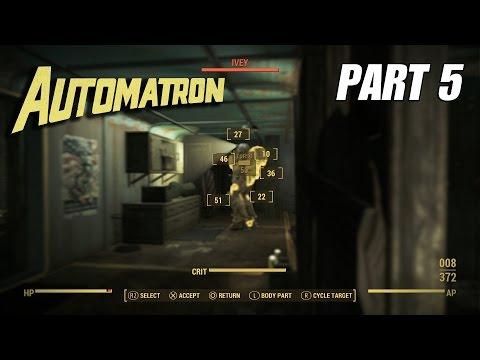 Fallout 4 Automatron DLC Part 5 | IVY; Rust Devils |