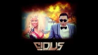 Download Psy VS Nicki Minaj - Pound The Alarm With Gangnam Style (Cidus Mashup) **FREE DOWNLOAD LINK** MP3 song and Music Video