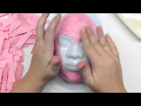 Easy Paper Mache Mask Making