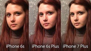 Сравнение камер iPhone 6s Plus и iPhone 7 Plus