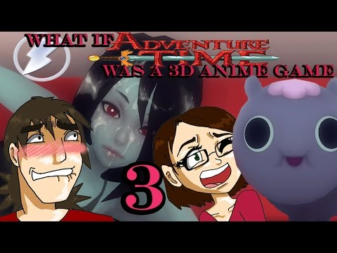 What if adventure time was a 3d anime marceline shower
