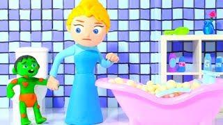 Tommy Needs A Bath 💕 Cartoons For Kids