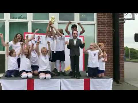 England's Dream - ENGLAND WORLD CUP SONG FOR 2018 by St Michael's CE Academy