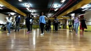 Beginner salsa senorita dance choreography