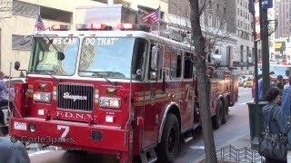 FDNY Tower Ladder 7 + All-Hands Fire Scene
