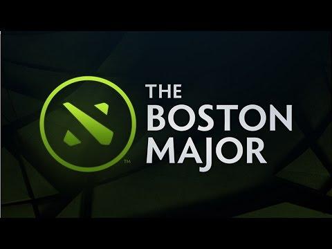 EG vs OG Game 1 |    The Boston Major 2016 Playoffs Bracket | Evil Geniuses vs OG Dota 2