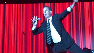 Jerry Seinfeld Performs Shtick at Gala Honoring Sheldon Adelson
