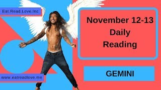 "GEMINI SOULMATE ""THE CHASE"" NOVEMBER 12-13 DAILY TAROT READING"