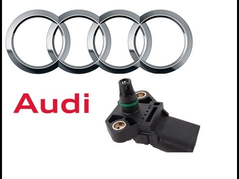 How to clean MAP sensor Audi A4 Model B6