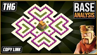 The ULTIMATE TH6 HYBRID/TROPHY[defense] Base 2021!! Town Hall 6 Hybrid Base Design - Clash of Clans