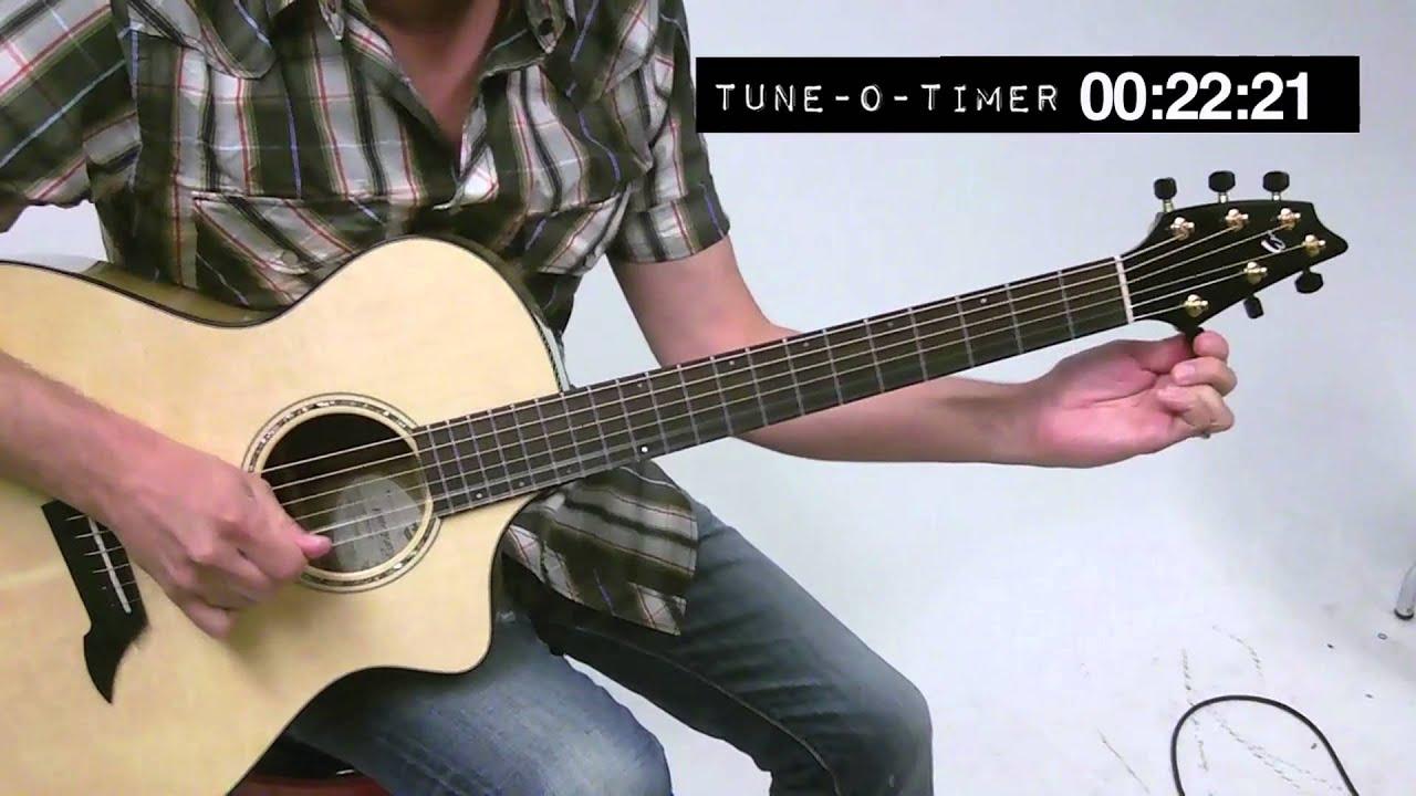 e0514bca Paul Riario Tunes a Guitar In Under 60 Seconds - YouTube