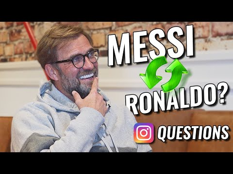 """""""Messi Or Ronaldo?"""" - Jürgen Klopp Answers Most Frequently Asked Instagram Questions"""