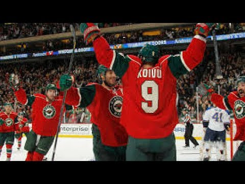 Most Memorable goals from the Minnesota Wild in their history (until 2017)