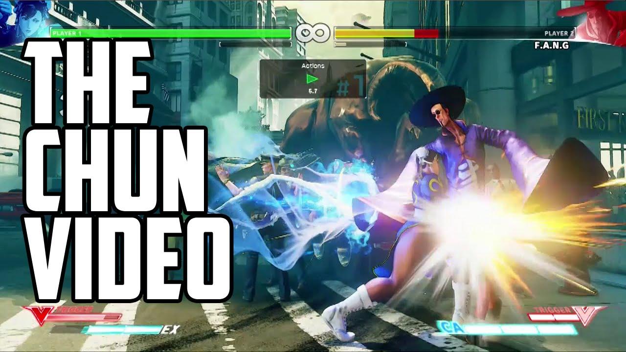 Street Fighter 5 Chun Li Combo Video Youtube