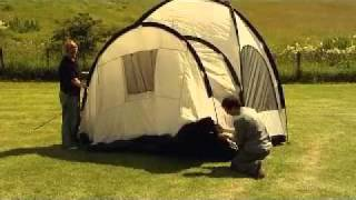 Vango Diablo Tent Pitching