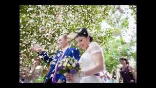 Свадьба. Жених Стас и невеста Наталья 4 июля 2015