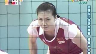 2010廣州亞運女排金牌戰 中國vs南韓 第五局 2/2