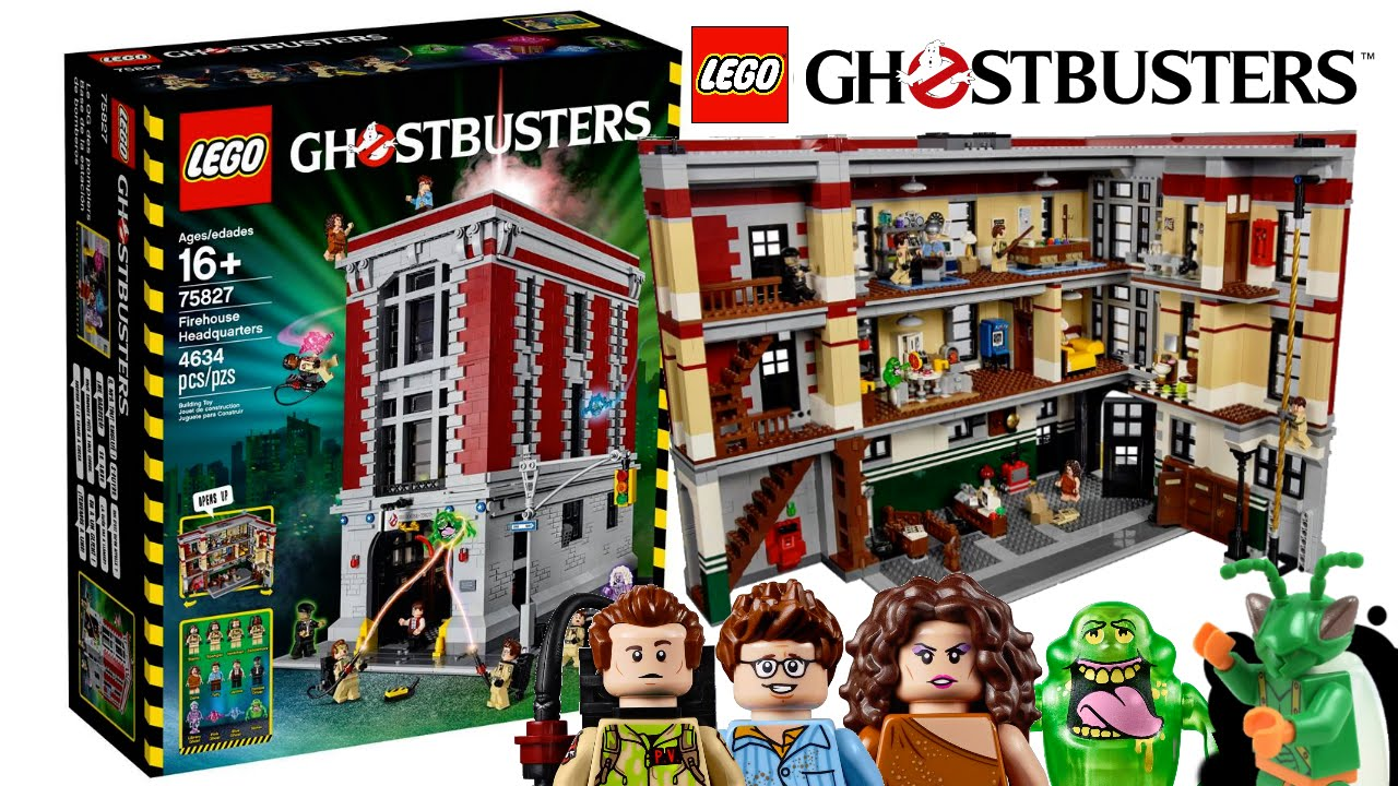 lego ghostbusters firehouse 2016 my thoughts youtube. Black Bedroom Furniture Sets. Home Design Ideas