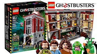 LEGO Ghostbusters Firehouse 2016 - My Thoughts!