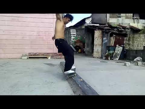 SLAPPY FRONTSIDE 50-50 GRIND Franco Q.Caligner Skateboarding 060219 Sunday Adstec Skate Pharm