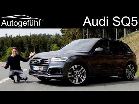 Audi SQ5 FULL REVIEW 2020 - Autogefühl